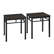 Altra Contemporary End Tables Square 20