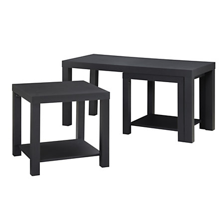 Altra coffee table end tables 17 12 h x 35 w x 16 38 d for 12 x 12 accent table