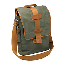 Nuo Vertical Canvas Messenger Bag For