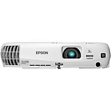 Epson PowerLite W16 3D Ready LCD
