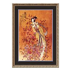 Amanti Art Goddess Of Prosperity Framed