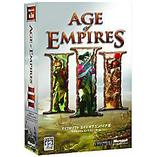 Microsoft Age Of Empires III Traditional