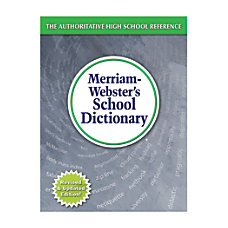 Merriam Webster s Intermediate Dictionary Grades