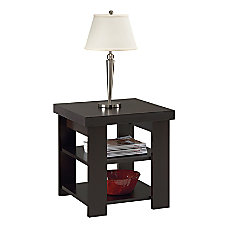 Altra Furniture End Table Black Forest