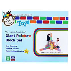 Smart Monkey ImagiBRICKS Giant Rainbow Building