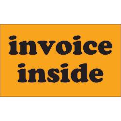 Tape Logic Preprinted Labels Invoice Inside