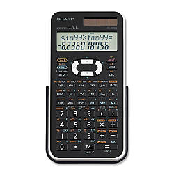 Sharp EL520X Scientific Calculator BlackWhite
