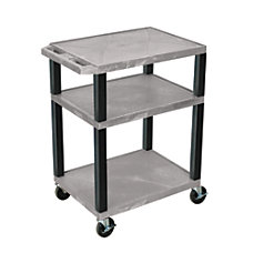 H Wilson Plastic Utility Cart 34
