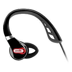 Polk Audio UltraFit 500 Headphone, Black/Red