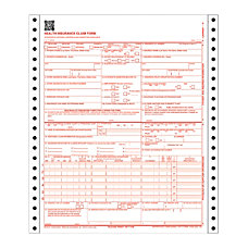 Adams Health Insurance Claim Form 2