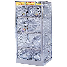 Justrite Horizontal Cylinder Storage Locker 6
