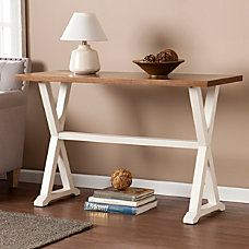 Southern Enterprises Calgary Console Table Rectangle