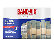 Band Aid Brand Sheer Bandages 34