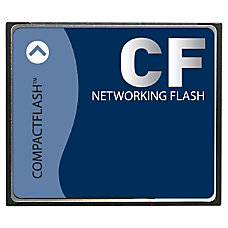4GB Compact Flash Card for Cisco