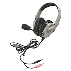 Califone Headphone Vol Cntrl Mic OnOffMute