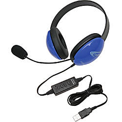 Califone USB Stereo Headphones Listening First