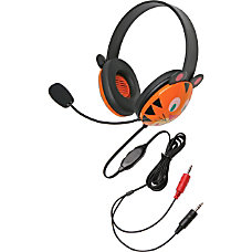Califone Stereo Headset Tiger w Mic