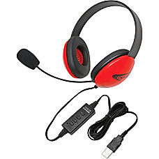 Califone USB Stereo Headphones Listening First