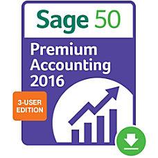 Sage 50 Premium Accounting 2016 US