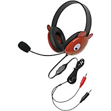 Califone Stereo Headphone Bear W Mic