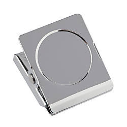 Office Depot Brand Magnetic Clips Silver