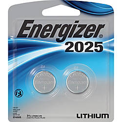 Energizer 2025 3V WatchElectronic Batteries CR2025