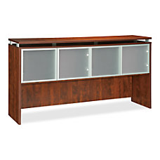 Lorell Ascent Hutch 72 4 Doors