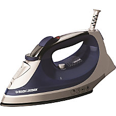Black Decker Xpress Steam Iron IR08X