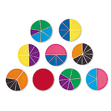 Learning Resources Rainbow Fraction Deluxe Circles