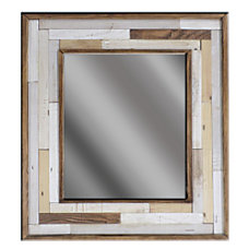 PTM Images Framed Mirror Color Patch