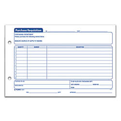 Office Depot Brand Purchase Requisition Forms   X   Pack Of
