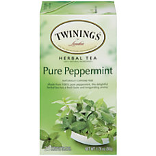 Twinings Caffeine Free Pure Peppermint Herbal