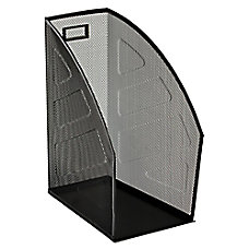 Rolodex Mesh Workspace Magazine File BlackSilver