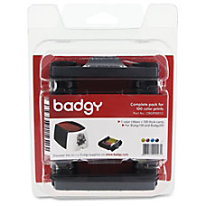 Evolis Badgy100 200 Consumable kit