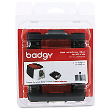 Evolis Badgy100 200 Black Ribbon