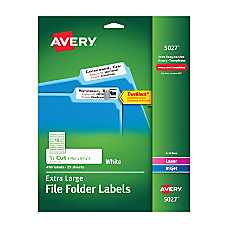 Avery TrueBlock Extra Large Color Permanent