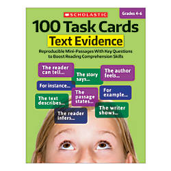 Scholastic 100 Task Cards