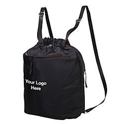 Monaco Strap Backpack Black