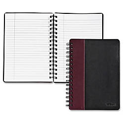 TOPS Leatherette Executive Notebook 8 x