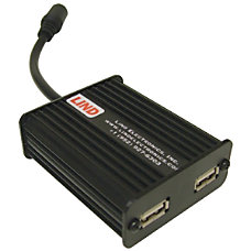 Lind Electronics Dual Rugged USB Adapter