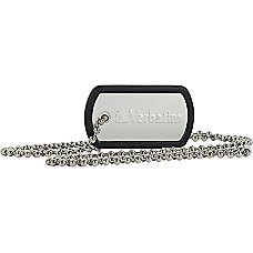 Verbatim 8GB Dog Tag USB Flash