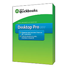 QuickBooks Desktop Pro 2017 Traditional Disc