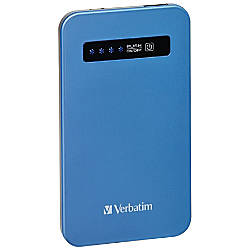 Verbatim Ultra Slim Power Pack (4200 mAh) - Aqua Blue