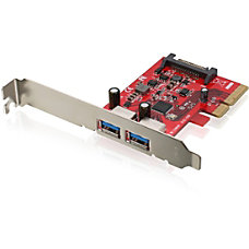 IOGEAR 2 Port SuperSpeed USB A