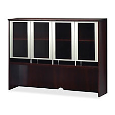 Mayline Napoli Glass Door Hutch 50
