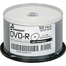 SKILCRAFT DVD Recordable Media DVD R