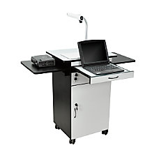 H Wilson Multimedia Workstation With Locking