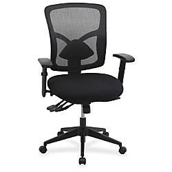 Lorell Management Chair Black 335 Width