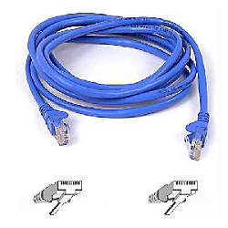Belkin Category 6 Patch Cable Blue