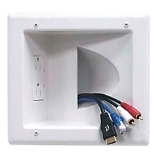 DataComm 45 0041 WH Recessed Low